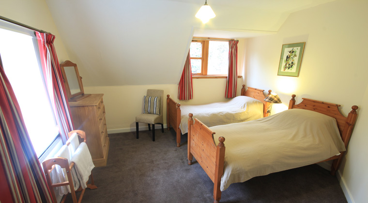 Stag Lodge Second Twin Bedroom