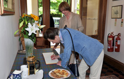 The Princess Royal visited the Glencarron Estate 1