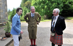 The Princess Royal visited the Glencarron Estate 2
