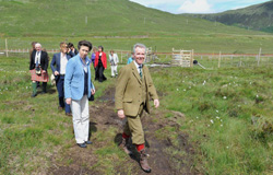 The Princess Royal visited the Glencarron Estate 3