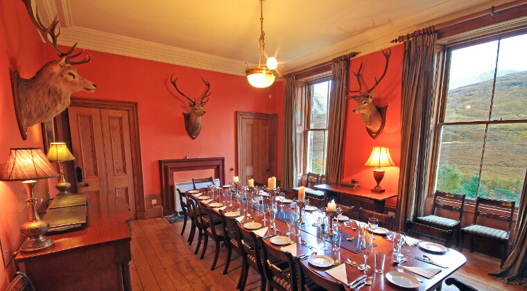 Glencarron Lodge Dining Room