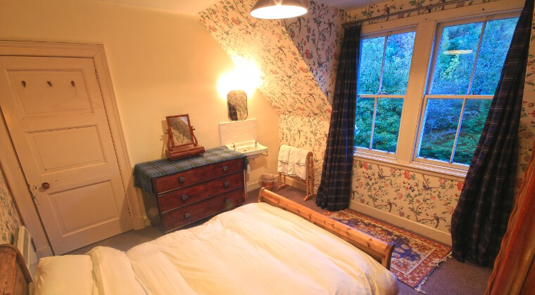 Glencarron Lodge Double Bedroom