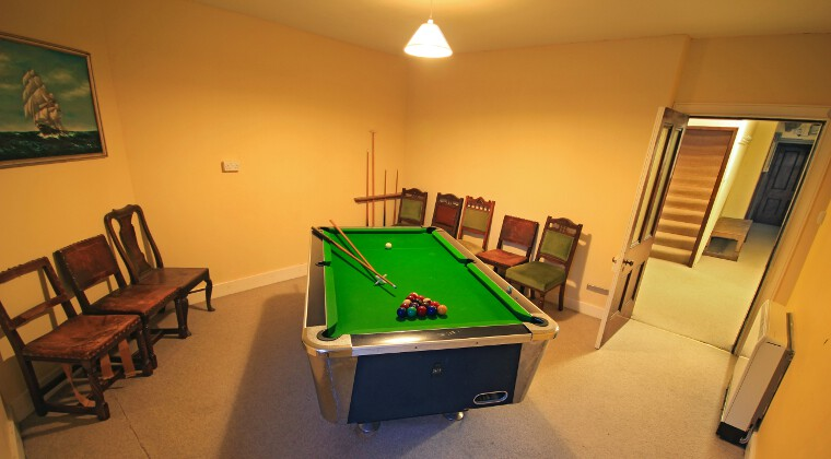 Glencarron Lodge Games Room