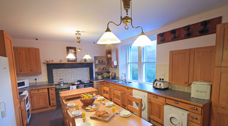 Glencarron Lodge Kitchen