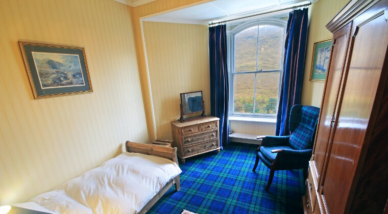Glencarron Lodge Single Bedroom